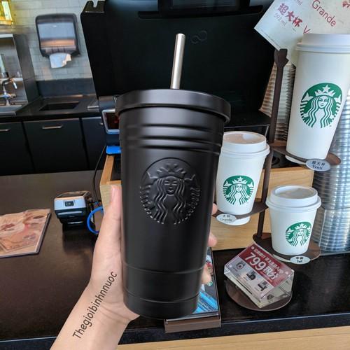 Ly Cold Cup Starbuck Tumbler Có Ống Hút Inox Trẻ Trung B227 - 5999834 , 10098107 , 15_10098107 , 335000 , Ly-Cold-Cup-Starbuck-Tumbler-Co-Ong-Hut-Inox-Tre-Trung-B227-15_10098107 , sendo.vn , Ly Cold Cup Starbuck Tumbler Có Ống Hút Inox Trẻ Trung B227