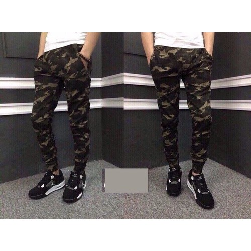 QUẦN JOGGER RẰN RI CAMO SO HIT HOT