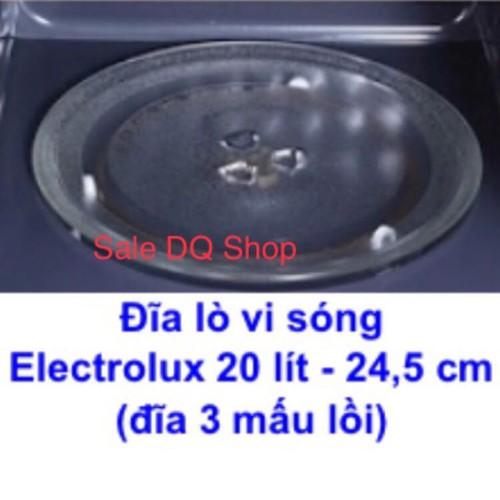 Đĩa thuỷ tinh lò vi sóng cao cấp chính hãng Electrolux - 5994509 , 10091220 , 15_10091220 , 175000 , Dia-thuy-tinh-lo-vi-song-cao-cap-chinh-hang-Electrolux-15_10091220 , sendo.vn , Đĩa thuỷ tinh lò vi sóng cao cấp chính hãng Electrolux