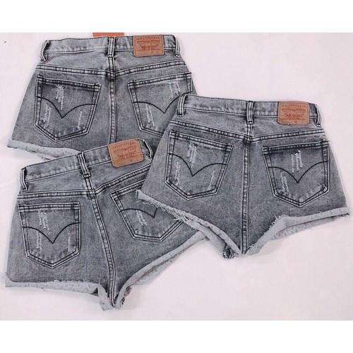 Quần short jean nữ lưng cao - 6001140 , 10099749 , 15_10099749 , 99000 , Quan-short-jean-nu-lung-cao-15_10099749 , sendo.vn , Quần short jean nữ lưng cao