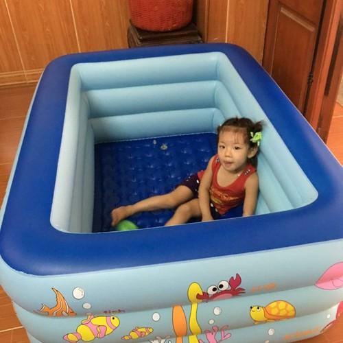 Bể bơi 3 tầng m6