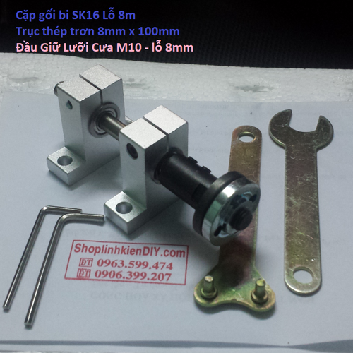 bộ trục máy cưa bàn mini - 5999382 , 10097588 , 15_10097588 , 195000 , bo-truc-may-cua-ban-mini-15_10097588 , sendo.vn , bộ trục máy cưa bàn mini