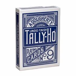 Bài ảo thuật Tally Ho màu xanh