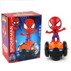 đồ chơi người nhện Spider-Man lái xe thăng bằng