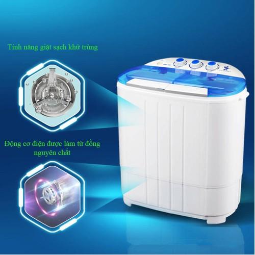 Máy giặt mini 2 lồng giặt vắt thông dụng có chức năng diệt khuẩn 4.5kg - 5994076 , 10090797 , 15_10090797 , 1990000 , May-giat-mini-2-long-giat-vat-thong-dung-co-chuc-nang-diet-khuan-4.5kg-15_10090797 , sendo.vn , Máy giặt mini 2 lồng giặt vắt thông dụng có chức năng diệt khuẩn 4.5kg