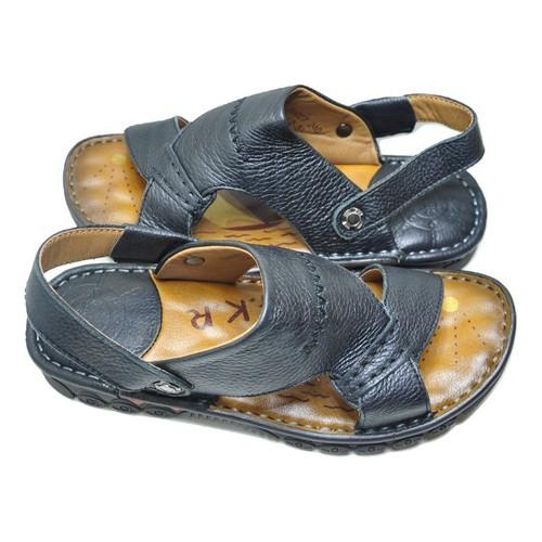 Giày sandal nam da mềm cao cấp Hải Nancy 58027D
