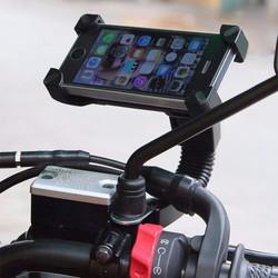 Kẹp điện thoại cho các loại xe máy-Giá công phá