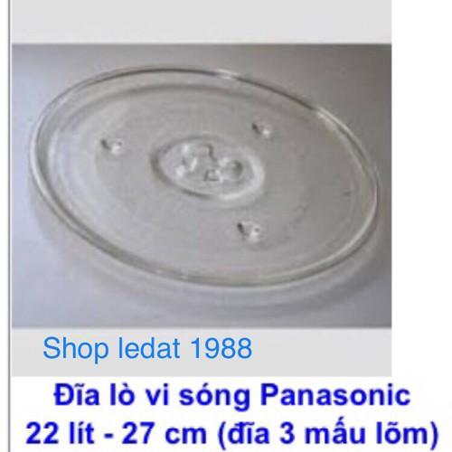 Đĩa thuỷ tinh lò vi song cao cấp chính hãng Panasonic - 5994174 , 10091076 , 15_10091076 , 185000 , Dia-thuy-tinh-lo-vi-song-cao-cap-chinh-hang-Panasonic-15_10091076 , sendo.vn , Đĩa thuỷ tinh lò vi song cao cấp chính hãng Panasonic