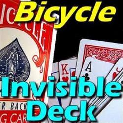 Bài ảo thuật Invisible Deck USA