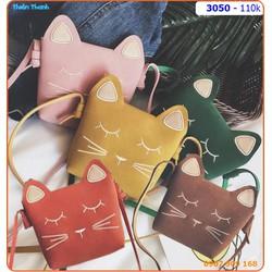 Túi đeo mèo xinh xắn cho bé yêu