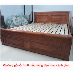 Giường ngủ gỗ sồi đẹp, giá tốt tại Tp. HCM