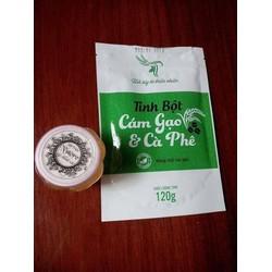 Bột cám gạo càphê nguyên chất - BCF01