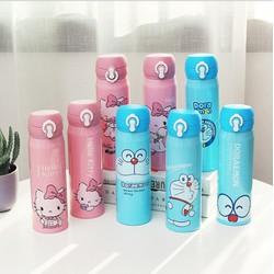 Bình giữ nhiệt Doraemon - Hello Kitty 500ml