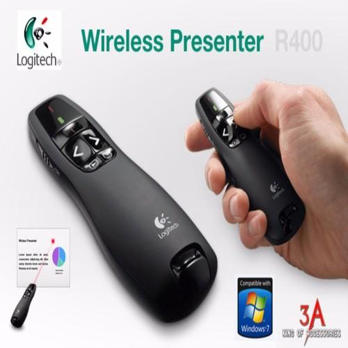 Bút trình chiếu Logitechh R400