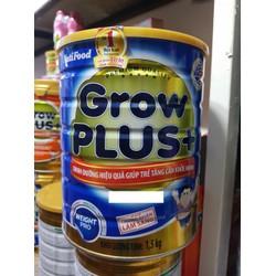 SỮA NUTIFOOD GROW PLUS XANH MẪU MỚI LON 1.5KG CHO TRẺ MUỐN TĂNG CÂN