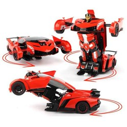 Đồ chơi xe biến hình Robot Transformation Gear