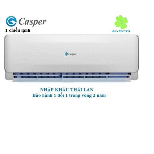 Điều hòa Casper FEC-12TL55 1 chiều lạnh Gas 32 NK Thái Lan - 4550069 , 13302505 , 15_13302505 , 6700000 , Dieu-hoa-Casper-FEC-12TL55-1-chieu-lanh-Gas-32-NK-Thai-Lan-15_13302505 , sendo.vn , Điều hòa Casper FEC-12TL55 1 chiều lạnh Gas 32 NK Thái Lan