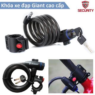 Khóa dây có chìa Giant cao cấp - Khóa xe đạp - Khóa dây Giant 1 thumbnail