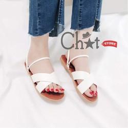 Giày Sandal Nữ Quai Chéo Phong Cách