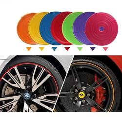 Dây độ la zăng xe hơi nhiều màu sắc