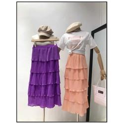 Set áo váy in chữ Victoria Secret