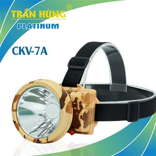 Đèn pin đội đầu CKV-7A [chạy pin 18650]