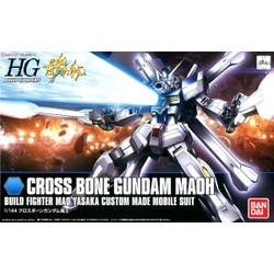 Gundam Bandai Hg Crossbone Maoh HGBF Gundam Build Fighters Mô Hình Nhựa Đồ Chơi Lắp Ráp Anime Nhật Tỷ Lệ 1/144