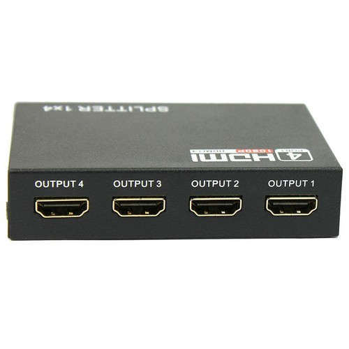 Bộ chia HDMI 1 ra 4, HUB HDMI 1 ra 4 hỗ trợ 3D