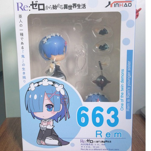 Mô Hình Nendoroid Rem - Re:Zero