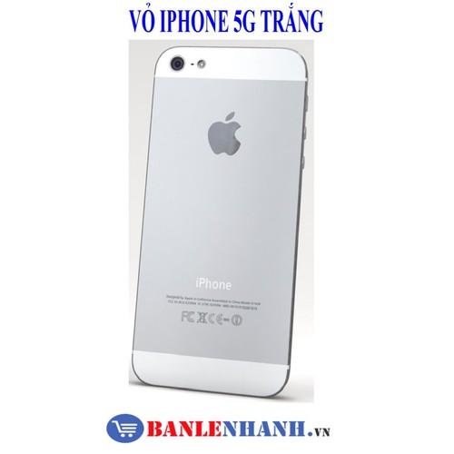 VỎ IPHONE 5 MÀU TRẮNG