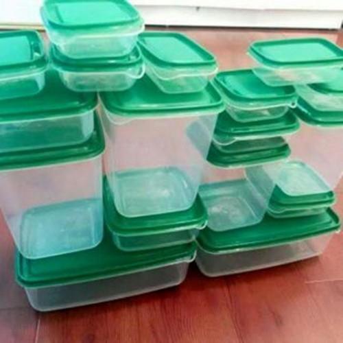 Bộ Hộp Nhựa Đựng Thức Ăn 17 hộp