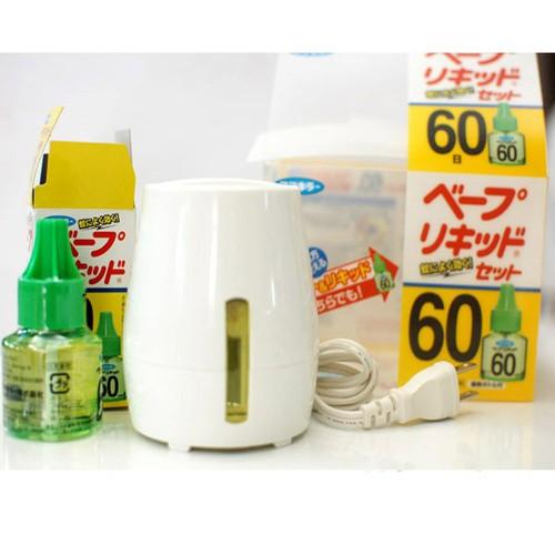 Máy đuổi muỗi sử dụng tinh dầu Nhật Bản