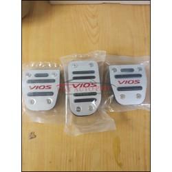 Bộ Ốp Bàn đạp Peda số sàn cao cấp cho dòng xe Vios 2014 đến 2018