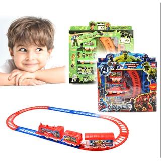 Bộ đồ chơi xe lửa chạy pin vui nhộn - G356 thumbnail