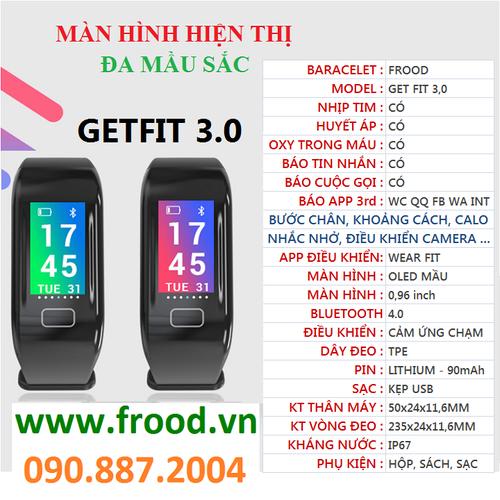 Vòng đeo tay theo dõi sức khỏe H10-Plus màn hình mầu