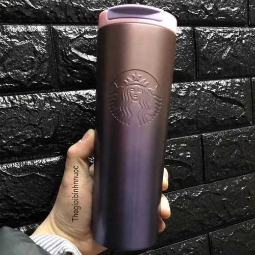 Bình Nước Giữ Nhiệt Starbucks Hồng Trắng Đen B230 - 4248196 , 10424211 , 15_10424211 , 315000 , Binh-Nuoc-Giu-Nhiet-Starbucks-Hong-Trang-Den-B230-15_10424211 , sendo.vn , Bình Nước Giữ Nhiệt Starbucks Hồng Trắng Đen B230
