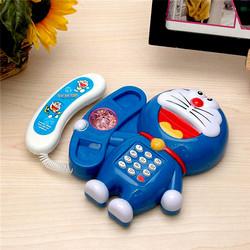 Điện thoại hoạt hình Doraemon có đèn  nhạc vui nhộn cho bé