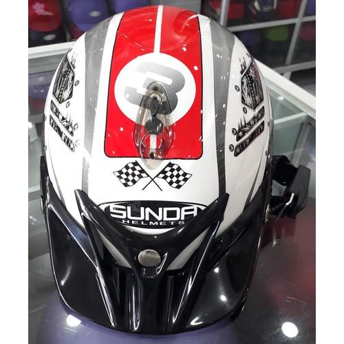 Nón bảo hiểm Sunda tem bóng - 4249732 , 10426463 , 15_10426463 , 380000 , Non-bao-hiem-Sunda-tem-bong-15_10426463 , sendo.vn , Nón bảo hiểm Sunda tem bóng