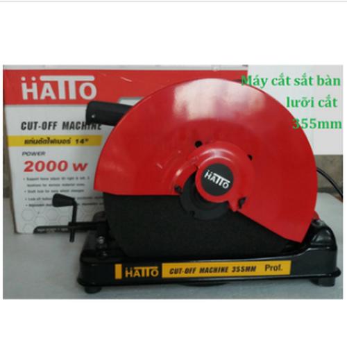 Máy cắt sắt bàn HaTTo 355HB