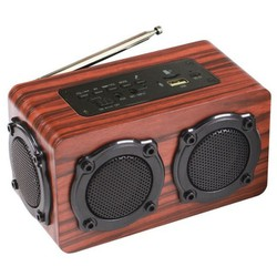 Loa gỗ Bluetooth Super Bass HIFI Stereo speaker PKCB 02 PF45