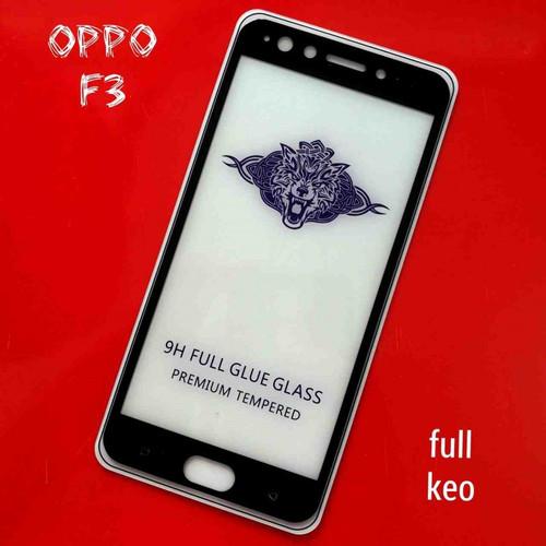 Dán cường lực full màn hình 5d oppo f3