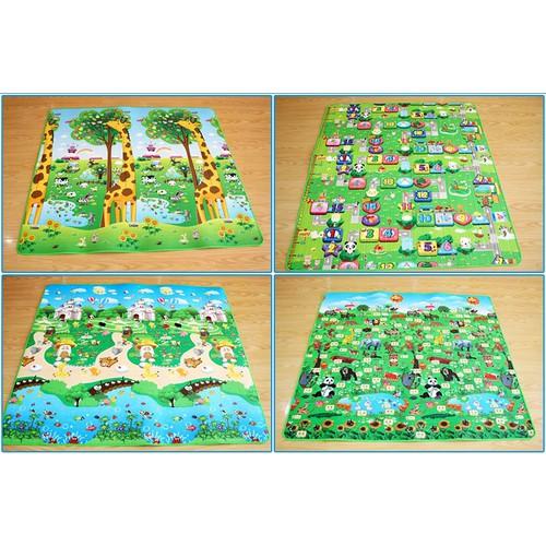 Thảm chơi 2 mặt cho bé Maboshi - 6092372 , 12618282 , 15_12618282 , 140000 , Tham-choi-2-mat-cho-be-Maboshi-15_12618282 , sendo.vn , Thảm chơi 2 mặt cho bé Maboshi