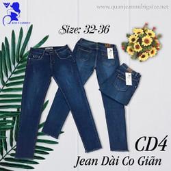 Quần jean nữ big size 32-36