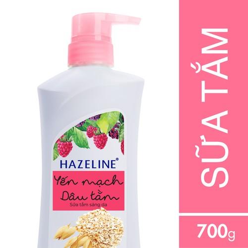 Sữa tắm dưỡng sáng da Hazeline Yến mạch - Dâu tằm 700g - 4354406 , 10562307 , 15_10562307 , 99000 , Sua-tam-duong-sang-da-Hazeline-Yen-mach-Dau-tam-700g-15_10562307 , sendo.vn , Sữa tắm dưỡng sáng da Hazeline Yến mạch - Dâu tằm 700g