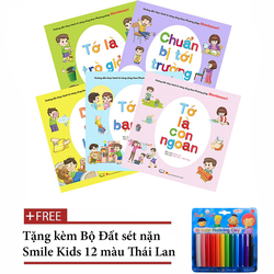 Bộ 5 Sách kỹ năng sống thực hành theo phương pháp Montessori