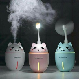 Máy phun sương kiêm đèn led và quạt 3in1 - phunsuongquat