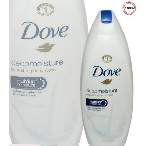 Sữa tắm Dove Deep Moiature 709ml của Mỹ