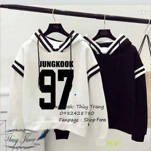 Áo hoodie BTS Jung Kook 97