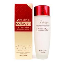 Nước hoa hồng dưỡng trắng da chống lão hóa 3W Clinic Collagen