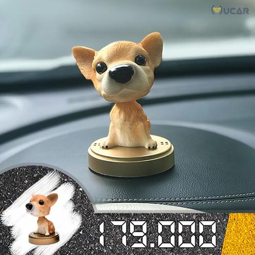 Chó phụ kiện trang trí ô tô